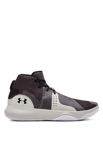 Under Armour grey and multi UA Anomaly Basketball Shoes 7B5B6SH0139BB1GS_1