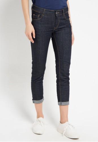 Miyoshi Jeans blue 65 Skinny Jeans 7/8 MI115AA0WQTSID_1