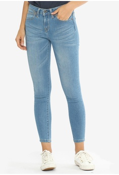 d3d935f4 Lee blue Women's Denim Pants 101+ Skyler 06CC9AAB707B77GS_1