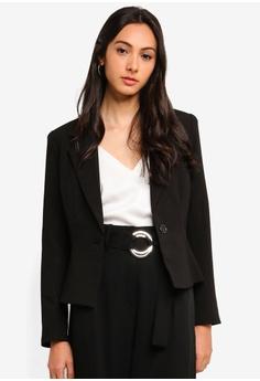 6f21cefa941f5 FORCAST black Jenny Suit Jacket 7CCFDAA940838AGS_1