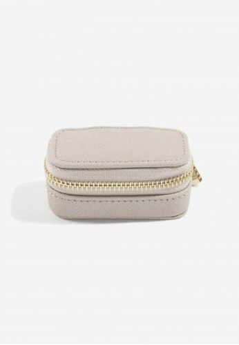 Stackers STACKERS PETITE TRAVEL JEWELLERY BOX (Taupe) 3B0DCAC7384B0EGS_1