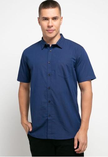 OLLten navy O/L-Men Shirt 93238AA6DFAACEGS_1