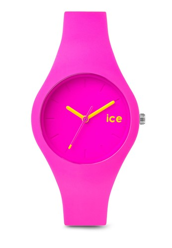 Ice Ola 矽esprit 折扣膠圓錶, 錶類, 休閒型