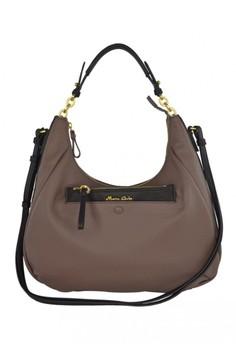 Franca Leather Shoulder Bag