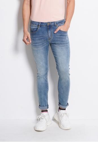 Hi Style blue Long Jean Skinny Fit 617D2AABDF0100GS_1