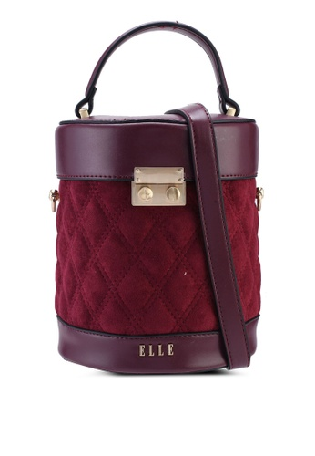 ELLE red Rishona Bucket Bag C2B66AC7E3C5BAGS_1