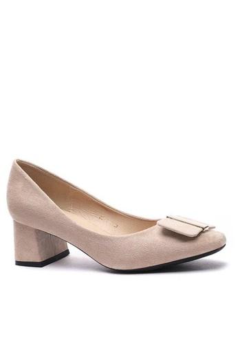 Twenty Eight Shoes Square Buckle Pumps 1270-44 F9DFESHF17CD89GS_1