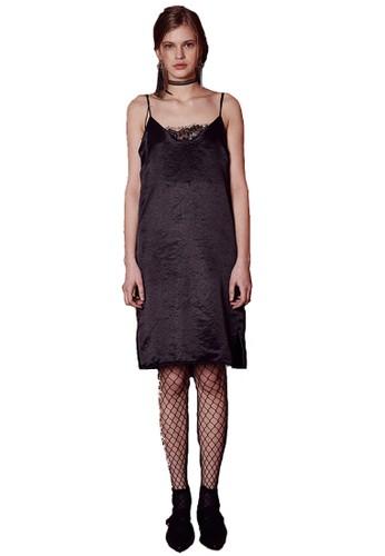 17SS網眼蕾絲esprit 澳門黑裙, 服飾, 洋裝