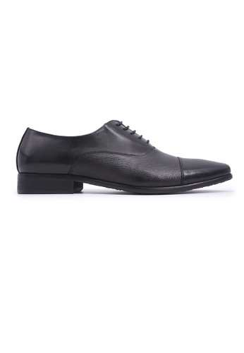 Hanson Bootmaker 黑色 Hanson Bootmaker Lace-up Oxford - Black 2DC8ASHBC256F0GS_1