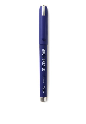 Typo blue Smooth Operator Gel Pen 99810AC2E7DB20GS_1