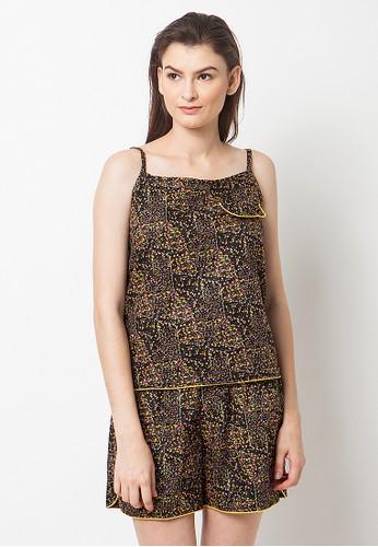 Madeleine's Millie Black Set Pajamas