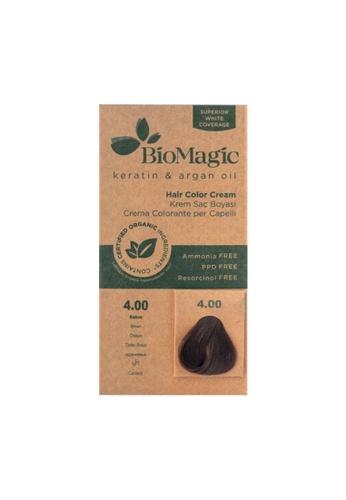 BioMagic BioMagic Organic Hair Color Brown (4.00) A1790BE913584CGS_1