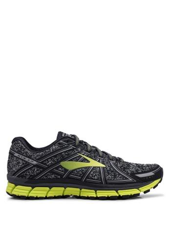 Brooks black Adrenaline GTS 17 Shoes 09534SH0D97ACEGS_1