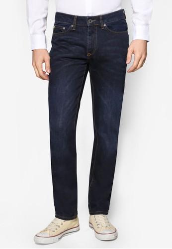 深色窄管牛仔褲, 服飾, zalora 衣服評價服飾