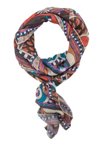 印花esprit hk store絲巾, 飾品配件, 披肩