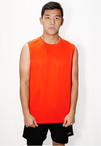 Trijee red Trijee Men Sleeveless Mark Red D78BCAAD7ADF04GS_1