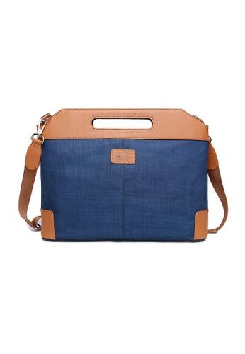 The Dude blue Vigor Briefcase TH373AC35CQYHK_1