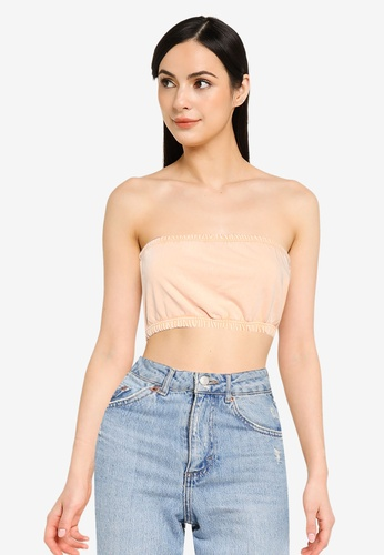 ONLY pink Zia Bandeau Top 8A0A0AA34E7BD3GS_1
