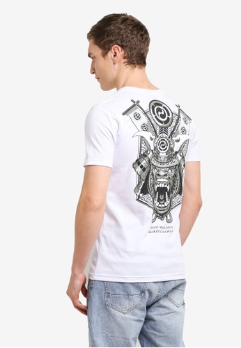 Graphite white Kong Warlord T-Shirt GR677AA0SCAKMY_1