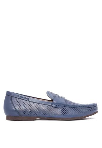 Sledgers blue Frerry Loafers SL142SH57QEWPH_1