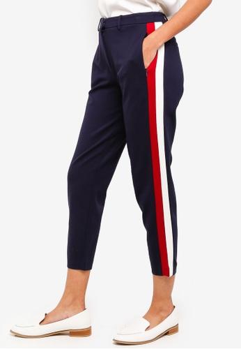ESPRIT navy Woven Regular Pants 0A00DAAF81AF8BGS_1