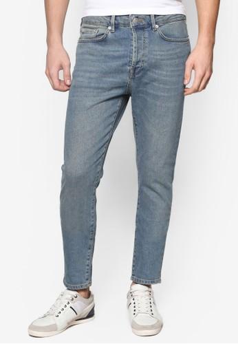 錐形彈性窄管esprit retail水洗牛仔褲, 服飾, 服飾