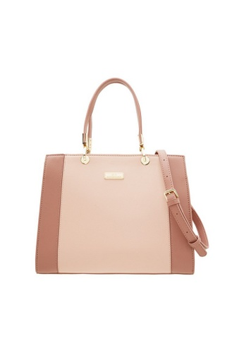 Valentino Creations pink Valentino Creations Karry Handbag 45A0DAC387BC1CGS_1