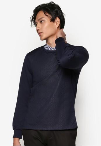 暗esprit hk紋長袖衫, 服飾, 男性服飾