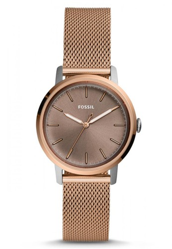 Fossil gold Fossil Neely - Grey Dial 34mm - Stainless Steel - Rose Gold - Jam Tangan Analog Wanita - ES4468 22264AC968BC24GS_1