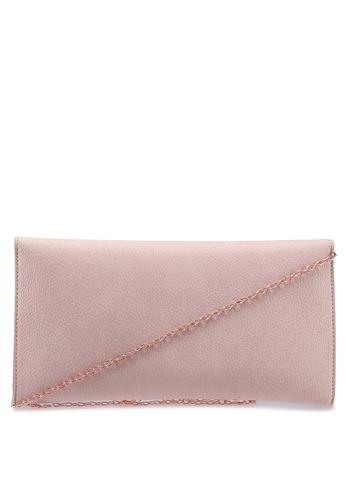 a8590f683 Buy MISSGUIDED Faux Leather Metal Trim Clutch Bag Online | ZALORA ...