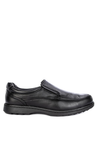 Itti black Formal Slip Ons B39B6SH3CDC7CAGS_1