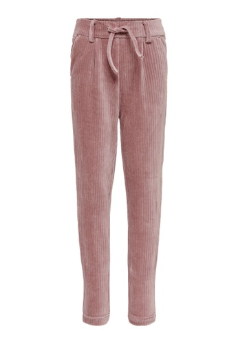 ONLY pink Poptrash Cord Pants 4C669KAD6CA995GS_1