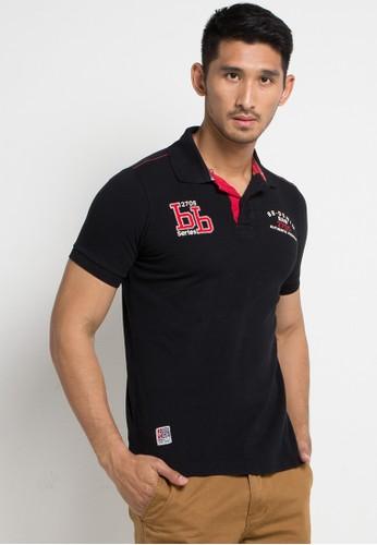 Bombboogie black and multi Toxicity Polo Shirt 63269AA745E1CBGS 1. CLICK TO  ZOOM 6624e1ad26