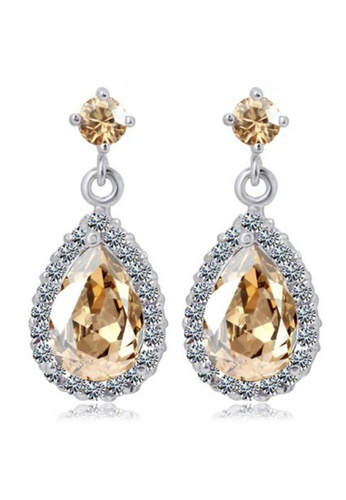 Krystal Couture gold KRYSTAL COUTURE Isabella Earrings Embellished with Swarovski® crystals 2697BACE823351GS_1