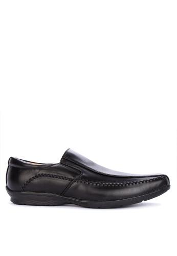 Preview black Zayn Formal Shoes 84D6CSH541D3EFGS_1