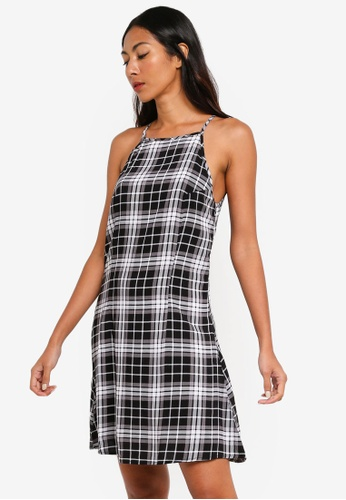 babb09e623 Shop Factorie High Neck Slip Dress Online on ZALORA Philippines