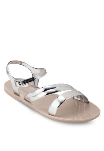 Finocchieto esprit 童裝金屬感涼鞋, 女鞋, 鞋