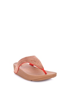 fb20fa60796 20% OFF Fitflop Lottie Shimmermesh Toe Post Sandals Php 4