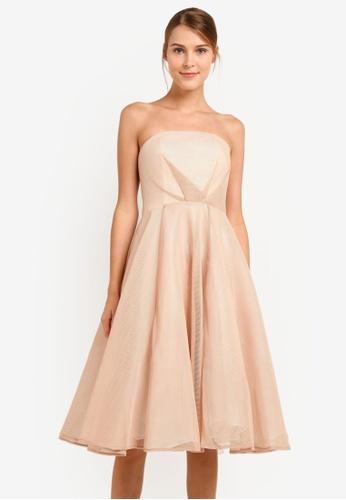 JARLO LONDON beige Paola Dress JA676AA0SAWYMY_1