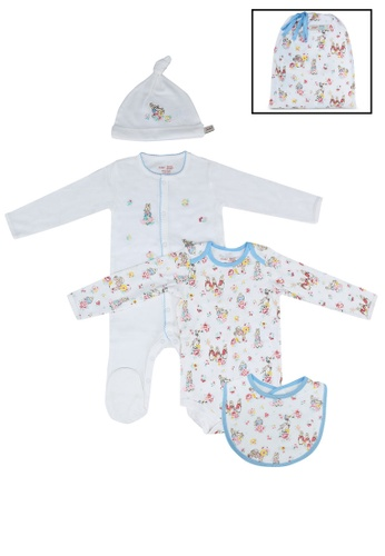Cath Kidston blue Beatrix Potter 4 Pack Baby Starter Set 5770FKC6DA5FD6GS_1