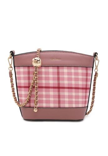 Wild Channel pink Ladies Sling Bag / Shoulder Bag / Crossbody Bag / Crossbody Sling Bag 368A4ACF339624GS_1