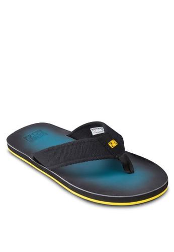 漸層夾腳平底涼esprit專櫃鞋, 鞋, 鞋