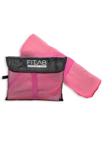 Fitlab pink Microfiber Bath Towel 1FC1FHL40C6690GS_1
