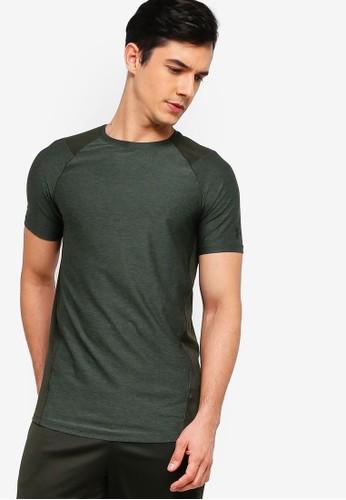 Under Armour green Mk1 Short Sleeve Tee E682FAA4004FEBGS_1
