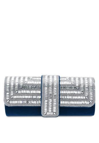 Papillon Clutch blue Diamond Envelope Clutch 8F72FAC57881C9GS_1