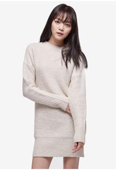 羊毛針織連身裙