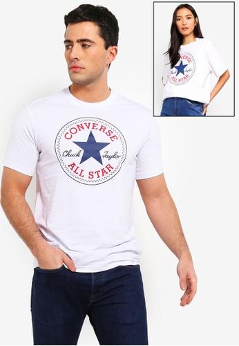 208ca495ad99cb Converse white Converse All Star Chuck Patch Tee 8A25DAA553FCC4GS 1
