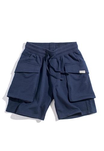 Twenty Eight Shoes navy VANSA Leisure Outdoor Shorts VCM-St1901250 A3470AA3B990E8GS_1