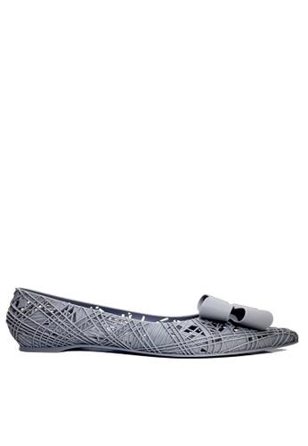 Twenty Eight Shoes grey Jelly Fretwork Hidden Heel Rain  and Beach Shoes VRM738 8DBEBSH3A746D0GS_1