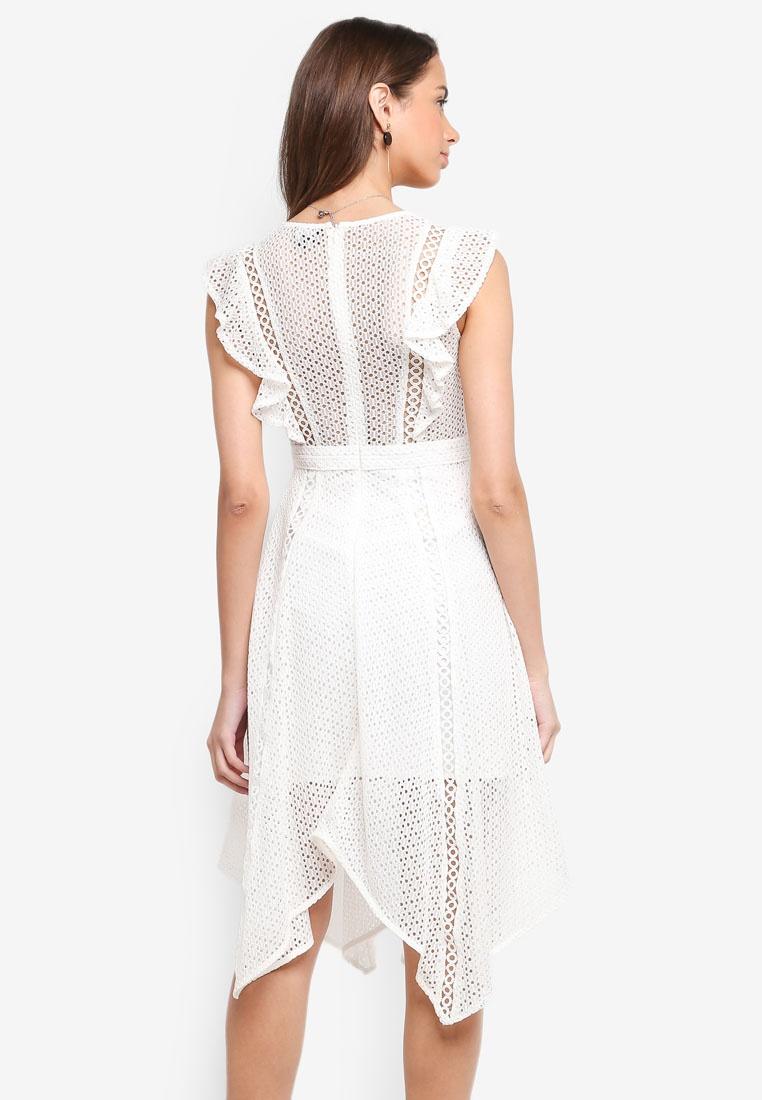 bardot dress lace lace dress bardot elias lace ivory ivory